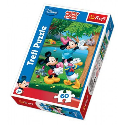 Puzzle Trefl-17198 Mickey and Friends: The bailout of Kitten