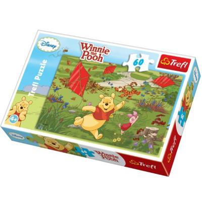 Puzzle Trefl-17204 Winnie the Pooh - Kite, it is fun!