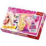 Puzzle  Trefl-17224 Barbie- Shopping day