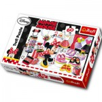 Puzzle  Trefl-17225 Minnie, Queen the fashion