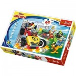 Puzzle  Trefl-17322 Disney Mickey and the Roadster Racers