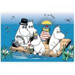 Puzzle  Trefl-17352 Moomins at the lake