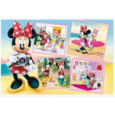 Puzzle Trefl-17360 Lovely Minnie