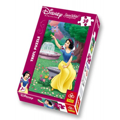 Trefl-18116 Jigsaw Puzzle - 30 Pieces - Snow White : A Letter from the Prince