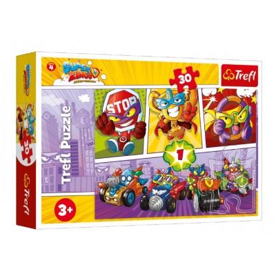 Puzzle Trefl-18271 Super Zings