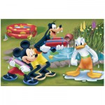 Puzzle  Trefl-19275 Mickey, Dingo and Donald are watered