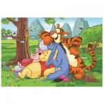 Puzzle  Trefl-19392 Winnie the Pooh - The four buddies