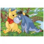 Puzzle  Trefl-19393 Winnie the Pooh - Winnie and Tigrou