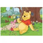Puzzle  Trefl-19394 Winnie the Pooh - Winnie and Porcinet