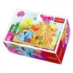 Trefl-19465 Mini Jigsaw Puzzle - My Little Pony