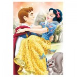 Trefl-19539 Mini Jigsaw Puzzle - Disney Princess