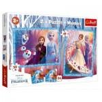 2 Puzzles + Memo - Frozen