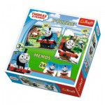 2 Puzzles + Memo - Thomas & Friends