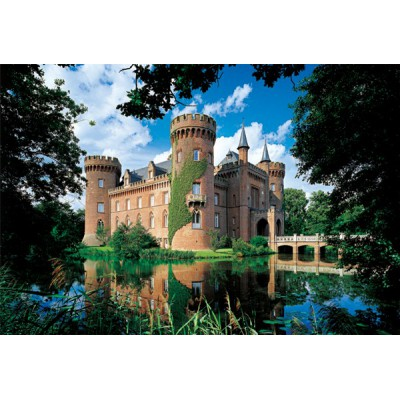 Trefl-26074 Jigsaw Puzzle - 1500 Pieces - Moyland Castle, Germany