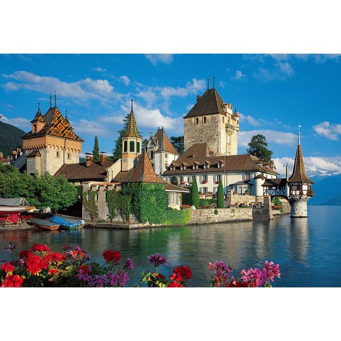 Jigsaw Puzzle - 1500 Pieces - Oberhofen Castle, Switzerland
