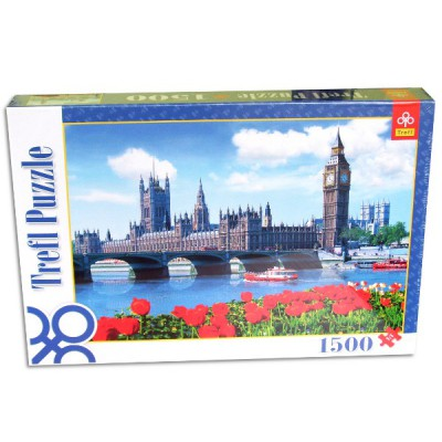Trefl-26104 Jigsaw Puzzle - 1500 Pieces - Parliament, London