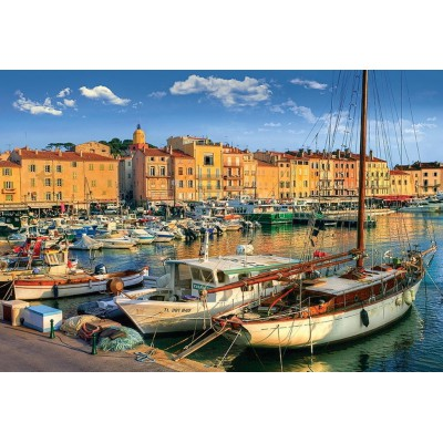 Puzzle Trefl-26130 Old Port in Saint-Tropez