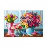 Puzzle  Trefl-26157 Flowers