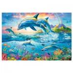 Puzzle  Trefl-26162 Dolphin Family
