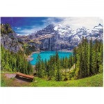 Puzzle  Trefl-26166 Lake Oeschinen, Alps, Switzerland