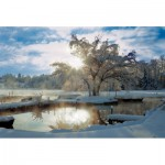 Trefl-27044 Jigsaw Puzzle - 2000 Pieces - Snow on the Lake