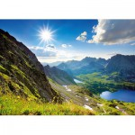 Trefl-27047 Jigsaw Puzzle - 2000 Pieces - Valleys : The Tatras, Poland, Slovakia