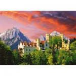 Trefl-27053 Jigsaw Puzzle - 2000 Pieces - Hohenschwangau Castle, Germany