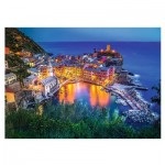 Puzzle  Trefl-27086 Vernazza at dusk