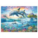 Puzzle  Trefl-27087 Happy Dolphins