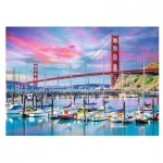 Puzzle  Trefl-27097 Golden Gate, San Francisco