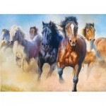 Puzzle  Trefl-27098 Galloping Herd of Horses