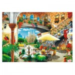Puzzle  Trefl-27105 Barcelona