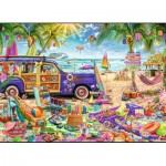 Puzzle  Trefl-27109 Tropical Vacation