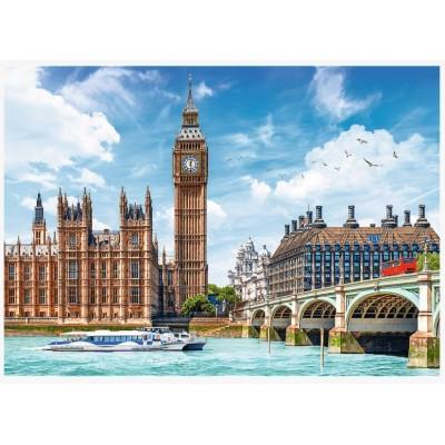 Puzzle Trefl-27120 Big Ben - London - England