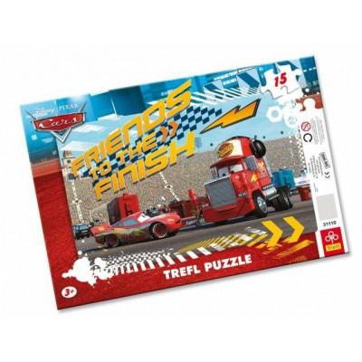 Trefl-31110 Frame Puzzle - Cars