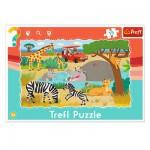 Trefl-31217 Frame Jigsaw Puzzle - Safari