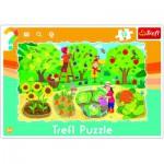 Trefl-31218 Frame Jigsaw Puzzle - Garden