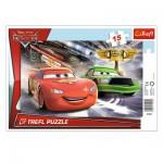 Trefl-31230 Frame Jigsaw Puzzle - Cars