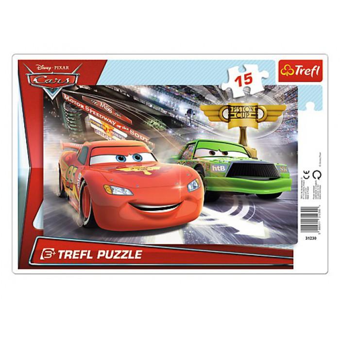 Frame Jigsaw Puzzle - Cars