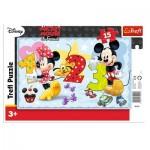 Trefl-31241 Frame Jigsaw Puzzle - Mickey