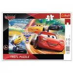 Trefl-31277 Frame Puzzle - Cars