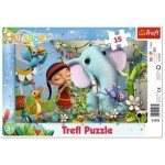 Trefl-31278 Frame Puzzle - Wissper