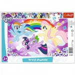 Trefl-31280 Frame Puzzle - My Little Pony