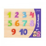 Trefl-31304 Frame Puzzle - 1-10
