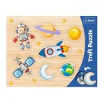 Trefl-31310 Frame Puzzle - Space Conquest