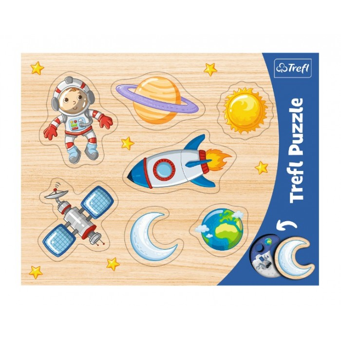 Frame Puzzle - Space Conquest