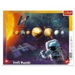 Trefl-31342 Frame Puzzle - Solar System