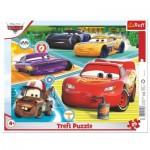 Trefl-31346 Frame Puzzle - Cars