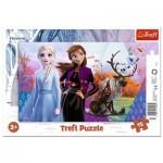 Trefl-31348 Frame Puzzle - Frozen II