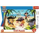 Trefl-31350 Frame Puzzle - Paw Patrol